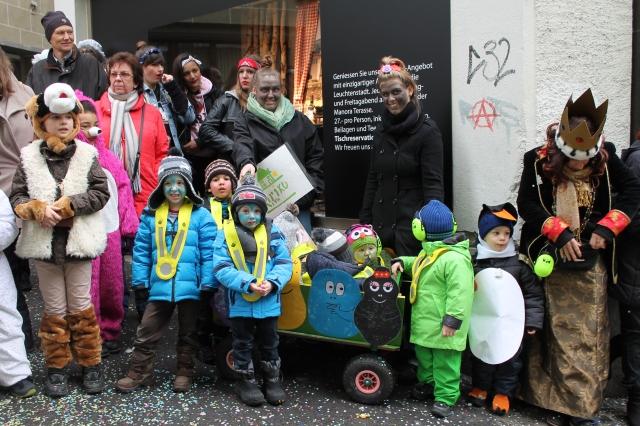 Barbapapaprojekt Kita Kiriku Luzern