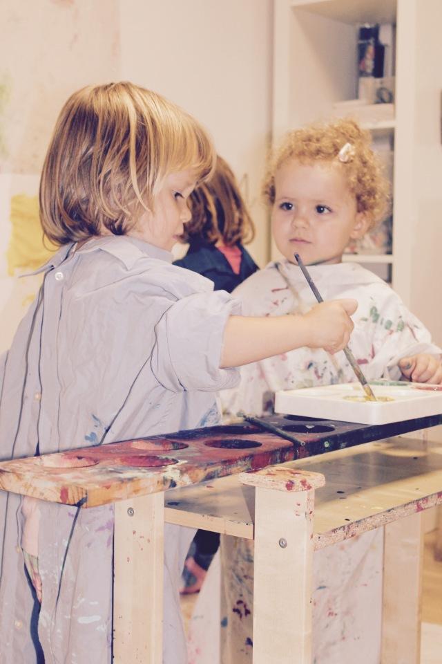 Ateliertag Kita Kiriku Luzern